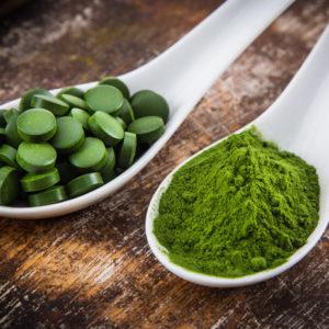 Спирулина Пробиотики и травы для общего здоровья