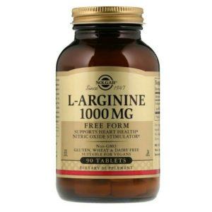 Solgar arginine 1000 mg