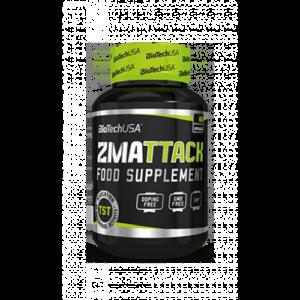 Купить ЗМА для тестостерона и сна BioTech USA ZMA TTACK 60 capsules в Кераине и отправка за границу. На Greens & Vitamins.