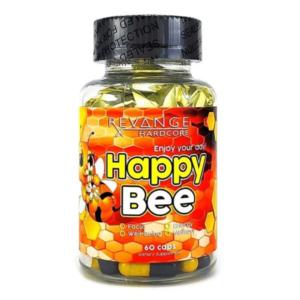 Купить эффективный ноотроп Хеппи бии для хорошего настроения и мозговой активности Revange Nutrition Happy Bee 60 caps в Украине и отправка за границу.