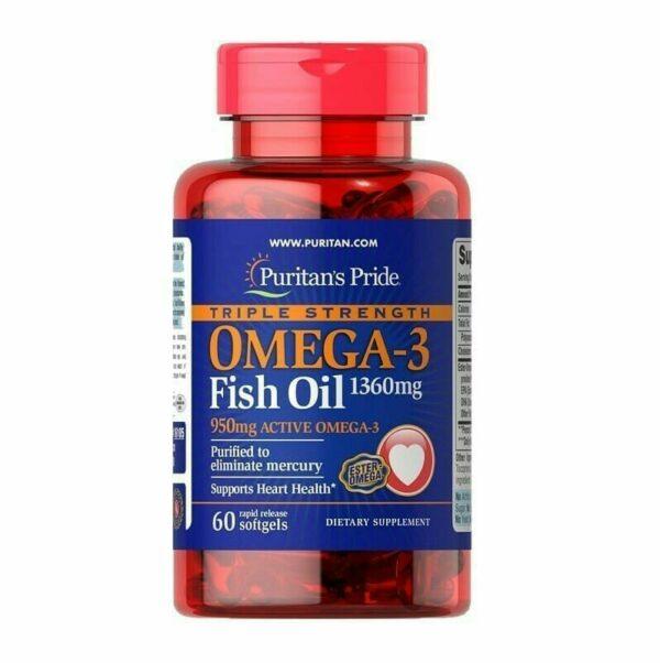Puritan's omega3 1360 mg