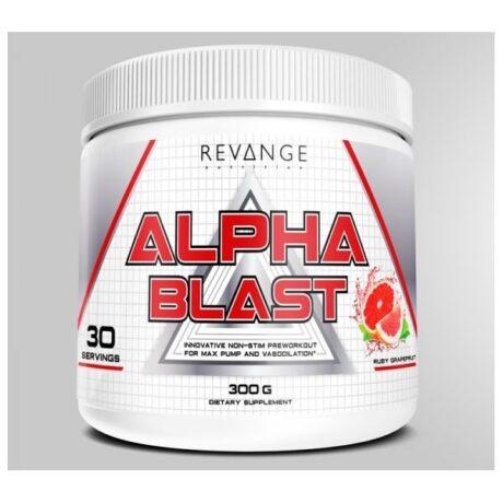 Alpha blast сильный предтрен