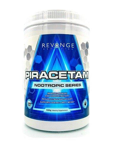 Пирацетам REVANGE NUTRITION PIRACETAM 500 G в порошке. Купить в Украине и отправка за границу. Интернет магазин Greens & Vitamins