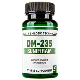 Купить Сунифирам Health Biologic Technology Nootrop DM-235 (Sunifiram) в Украине и отправка за границу. На Greens & Vitamins.