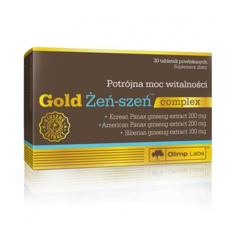 Купить адаптоген женьшень для иммунитета и поддержки жизненных сил Olimp Nutrition Gold Ginseng Complex в Украине и за границу