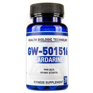 Купить Кардарин Health Biologic Technology Cardarine (GW-501516) 20 mg 30 cap в Украине и доставка за границу. На Greens & Vitamins.