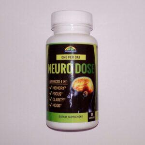 Купить ноотроп Нейро Доза Nourish Valley EzyAbsorb Neuro Dose 200mg 30 capsules в Украине и отправка за границу. На Greens & Vitamins.