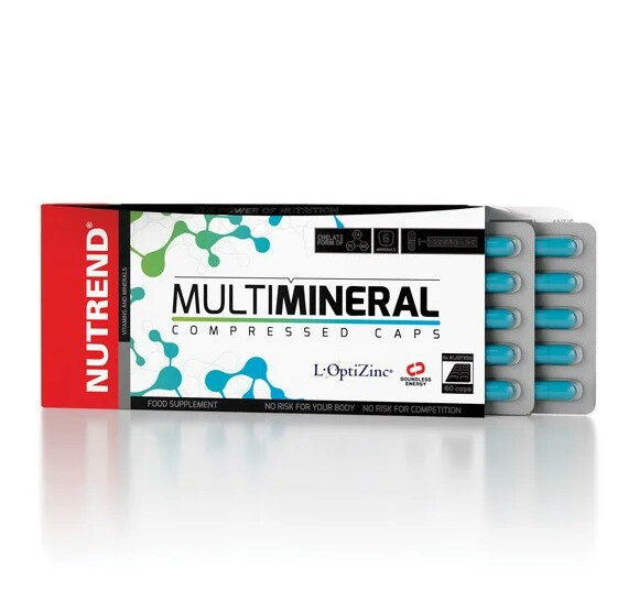 Nutrend Multimineral Compressed Caps 60 caps
