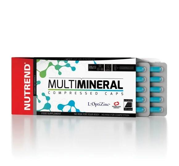 Nutrend Multimineral Compressed Caps 60 caps