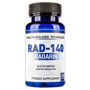 Купить Радарин Health Biologic Technology SARMs Radarin (RAD140) 10 mg 30 cap в Украине и отправка за границу. В интернет магазине Greens & Vitamins.