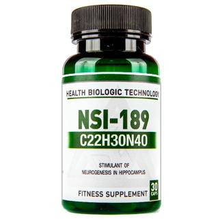 Купить Ноотроп Health Biologic Technology (Belgium) Nootrop NSI-189 (40 mg) 30 cap в Украине и отправка за границу. На Greens & Vitamins.