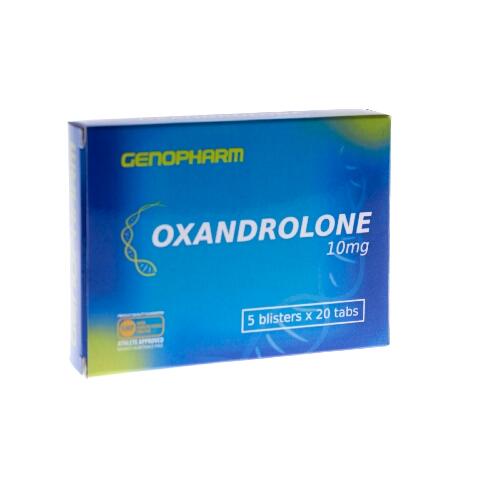 Купить лучшие стероиды, фармакологию. Оксандролон Genopharm Oxandrolone 10 mg 100 tab в Украине и отправка за границу. На Greens & Vitamins.