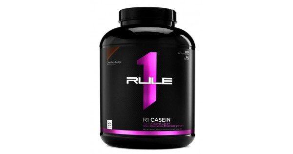 Купить премиальный молочный протеин (казеин) для роста мышц Rule1 Casein (1.8 кг) в Украине и отправка за границу. На Greens & Vitamins