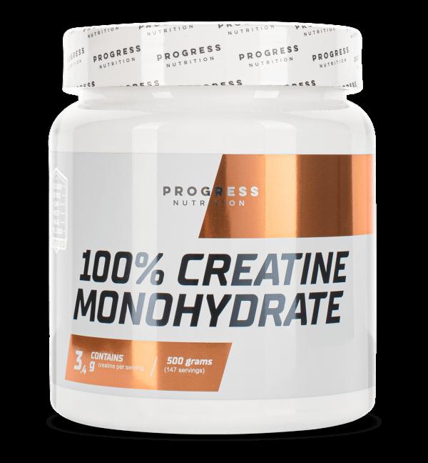 Купить креатин моногидрат в порошке Европейского качества Progress Nutrition Creatine Monohydrate 500 g в Украине и отправка за границу