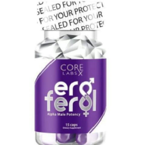 Сексуальный стимулятор Core Labs X Eroferol 15 caps - лучшее средство для потенции! Натуральная основа для здоровья и мужской силы!