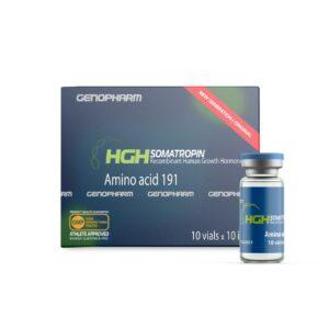 Купить Гормон роста Генофарм (HGH Somatropin Genopharm) 1 vials x 10 iu у официального импортера в Украине. Генофарм - лучший гормон роста!