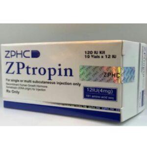 Купить гормон роста ZHENGZHOU ZPTROPIN 10 Х 12 IU по доступной цене в Украине и отправка за границу в интернет магазине Greens & Vitamins