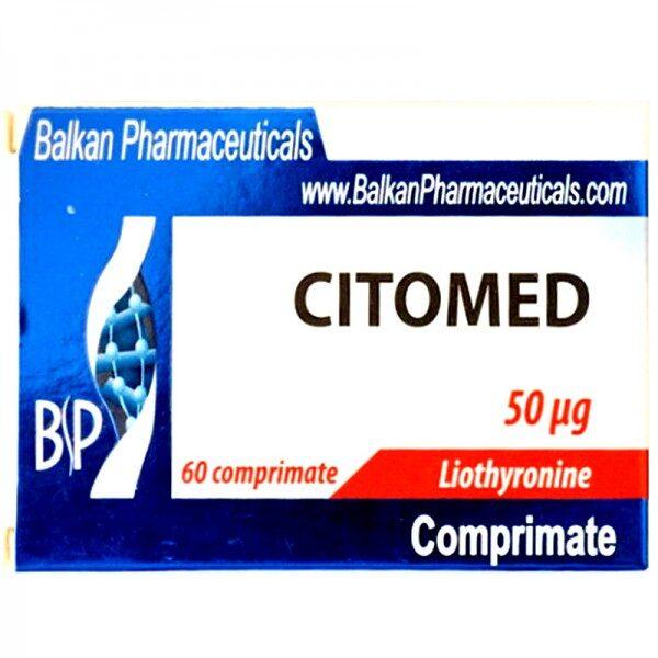 Балкан Цитомед (трийодтиронин Т3) | Balkan Pharmaceuticals Citomed 20 tabs 50 mcg купить в Украине и отправка за границу.