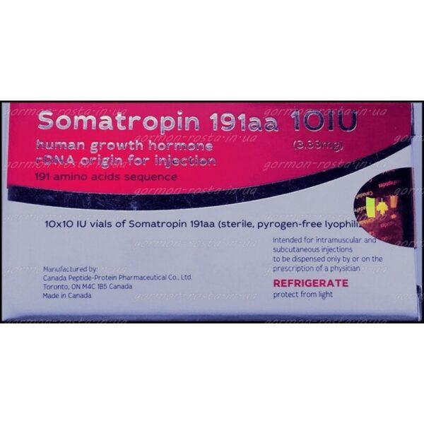 Гормон роста Canada Somatropin 191aa 10 iu купить в Украине и отправка за границу, в интернет магазине Greens & Vitamins