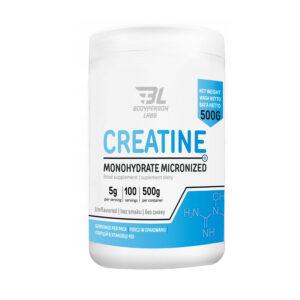 Купить креатин не дорого высокого качества Bodyperson Labs 100% Creatine Monohydrate Pure 500 g в Украине и отправка за границу