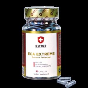 Купить сильнодействующий жиросжигатель ЭКА Экстрим Swiss Pharmaceuticals ECA Extreme 60 caps в Украине и отправка за границу.