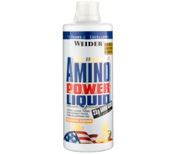 Купить жидкие аминокислоты с быстрым усвоением Weider Amino Power Liquid 1000 ml в Украине по средней стоимости | интернет магазин Greens & Vitamins